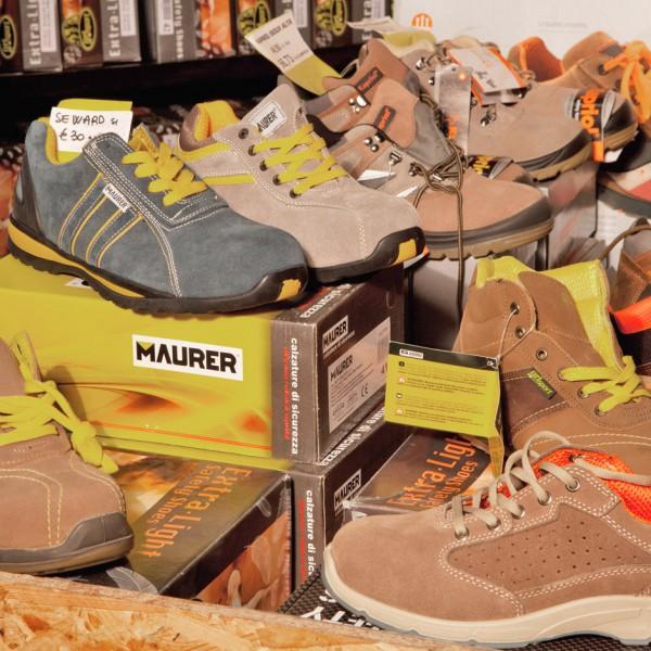 Forniture per l'edilizia rivendita di Ponsacco scarpe antifortunistica